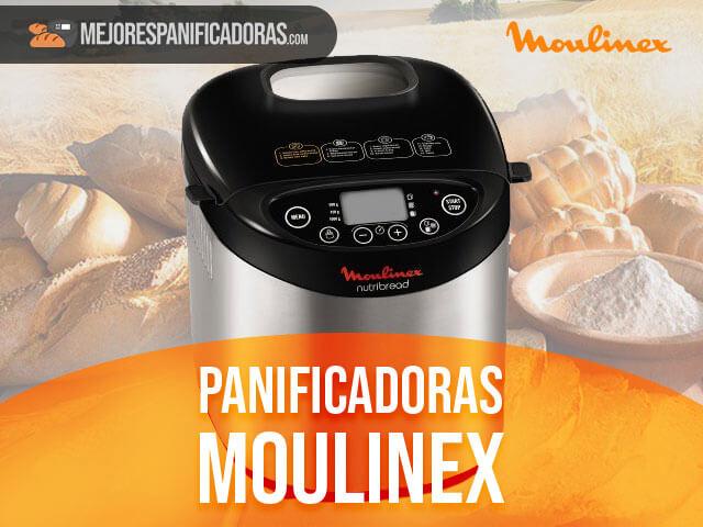 mejores máquinas de hacer pan moulinex