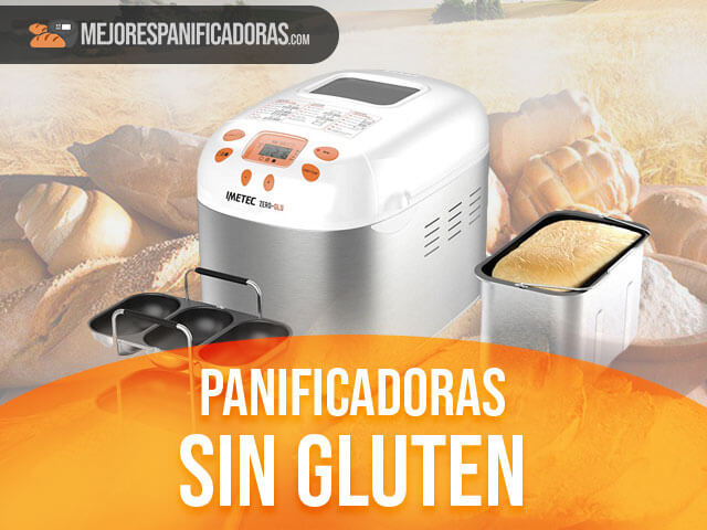 mejores máquinas de hacer pan sin gluten